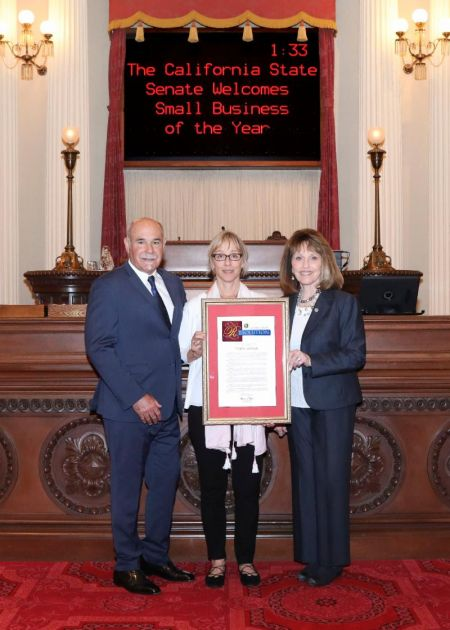 "Senator Bates Honors ""Douglas Landscape Inc."" as 2018 Small Business of the Year"