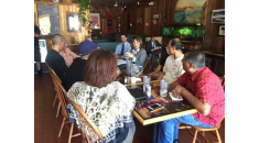 Bates speaks with North County restaurant owners