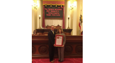 Senator Patricia Bates Honors Ocean Institute as Nonprofit of the Year