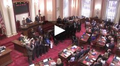 Senate Swearing In Ceremony